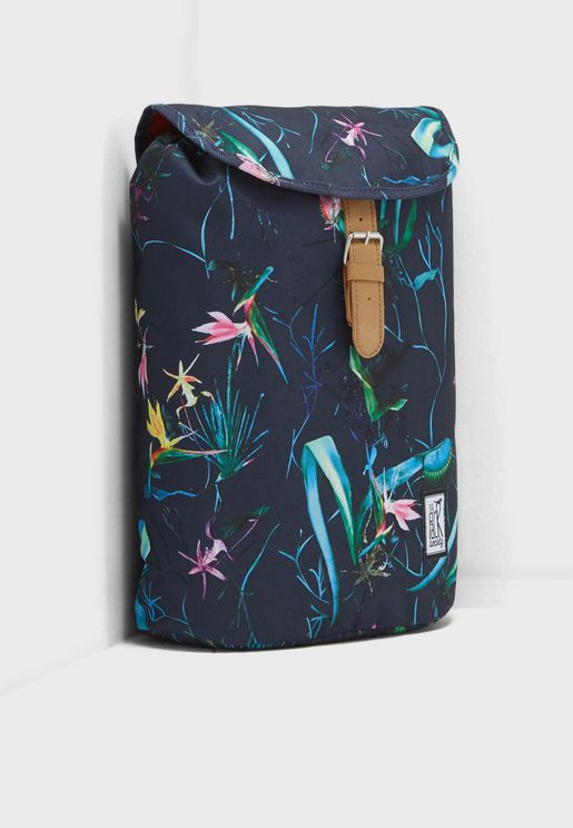 Small Jungle Allover Backpack