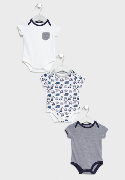 Infant 3 Pack Bodysuits