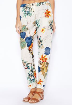 Ginger Printed Trousers