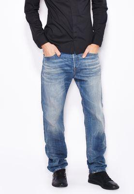 Diesel Buster Slim Fit Light Wash Jeans