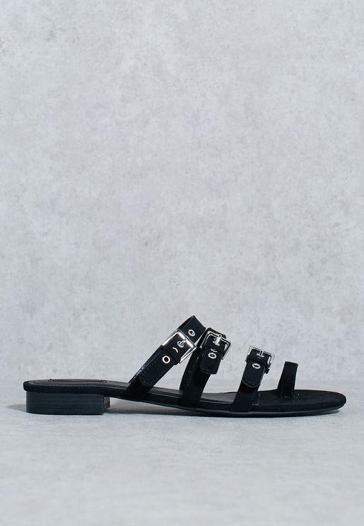 Multi Belt Sandal