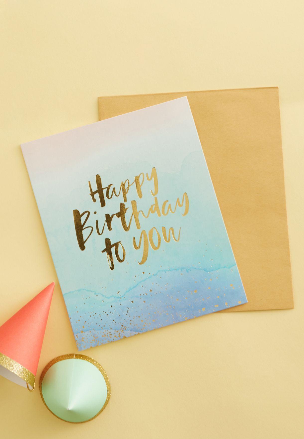 Nice Birthday Card