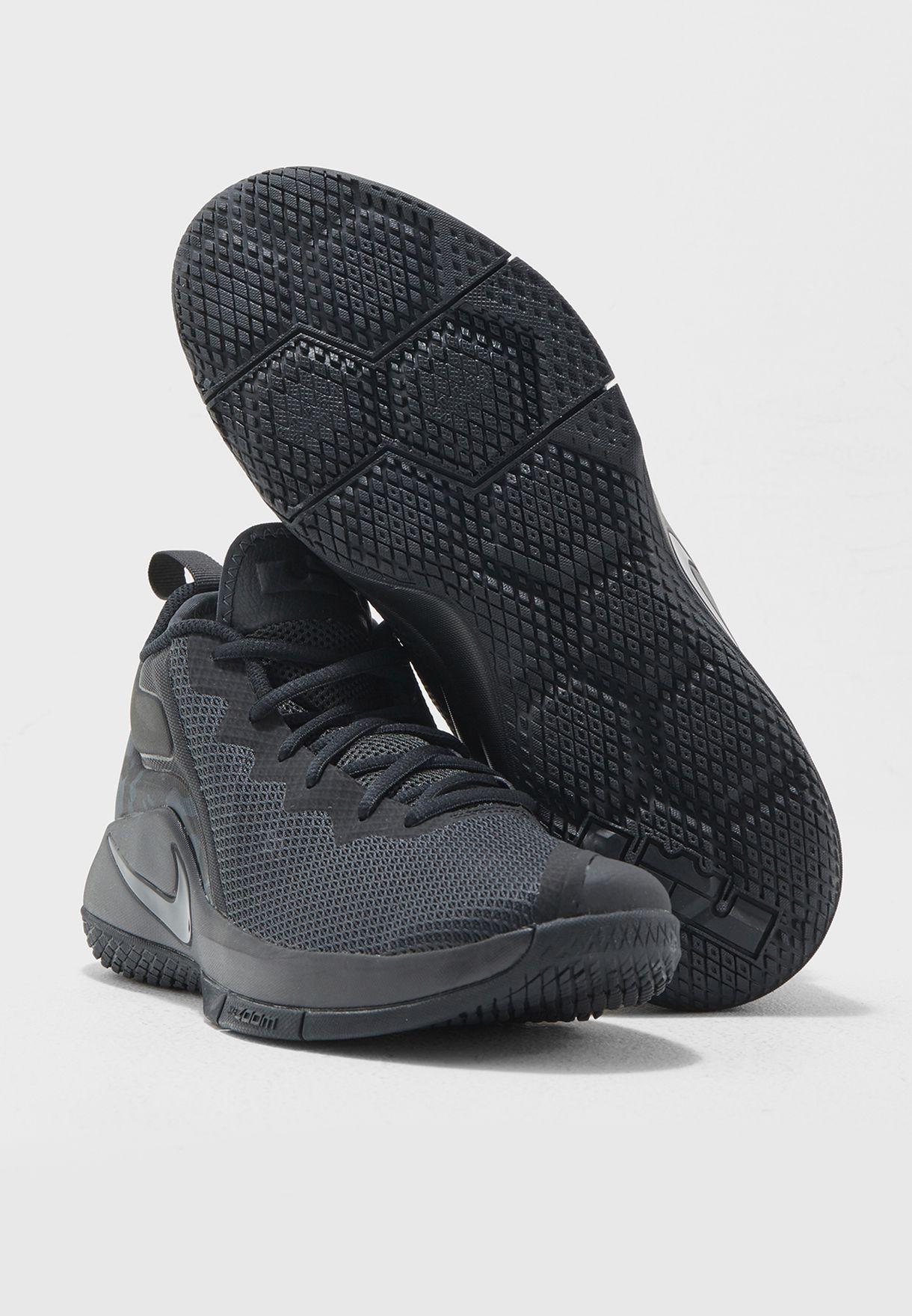 f0d6a2341a8f Shop Nike black LeBron Witness II 942518-010 for Men in Saudi ...