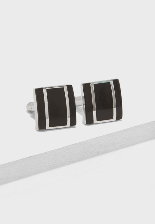 Matt Finish Square Cufflinks