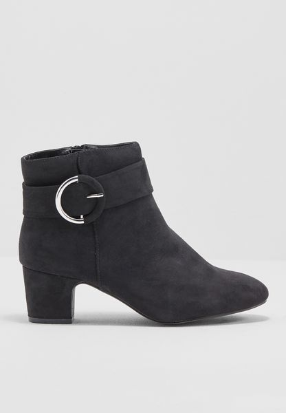 Ring Belted Boot