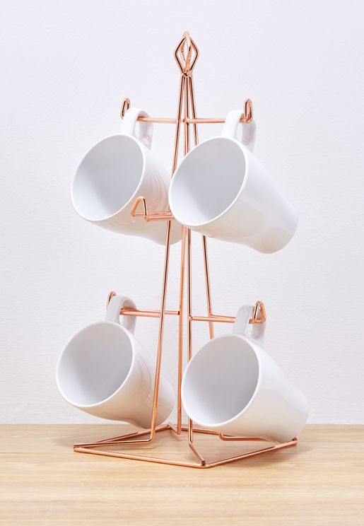 6 Vertex Mug Holder