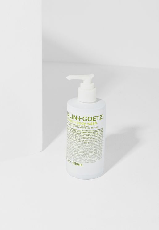Lime Hand+Body Wash Pump