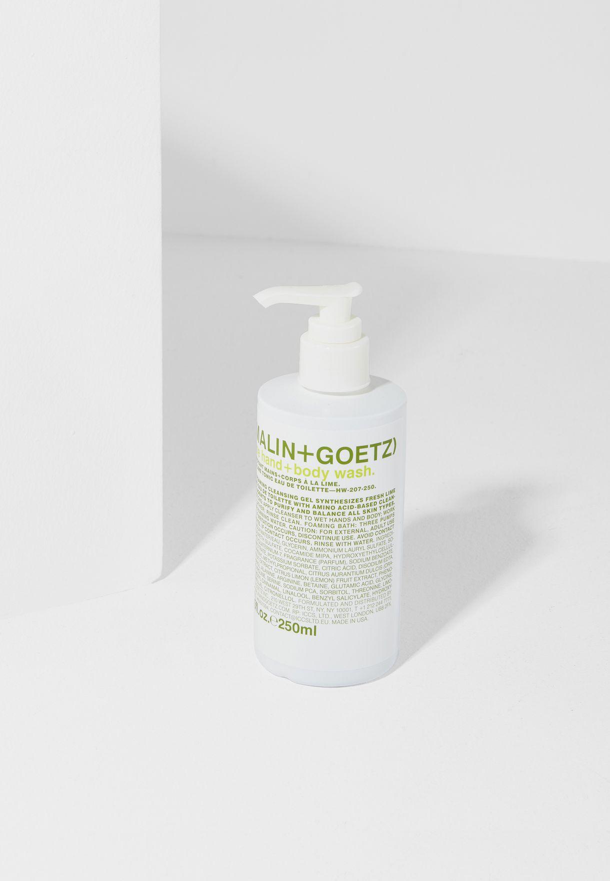 Lime Hand+Body Wash Pump