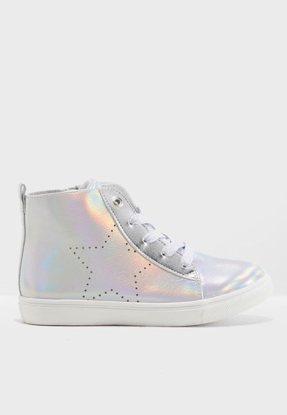 Youth Holographic Sneaker