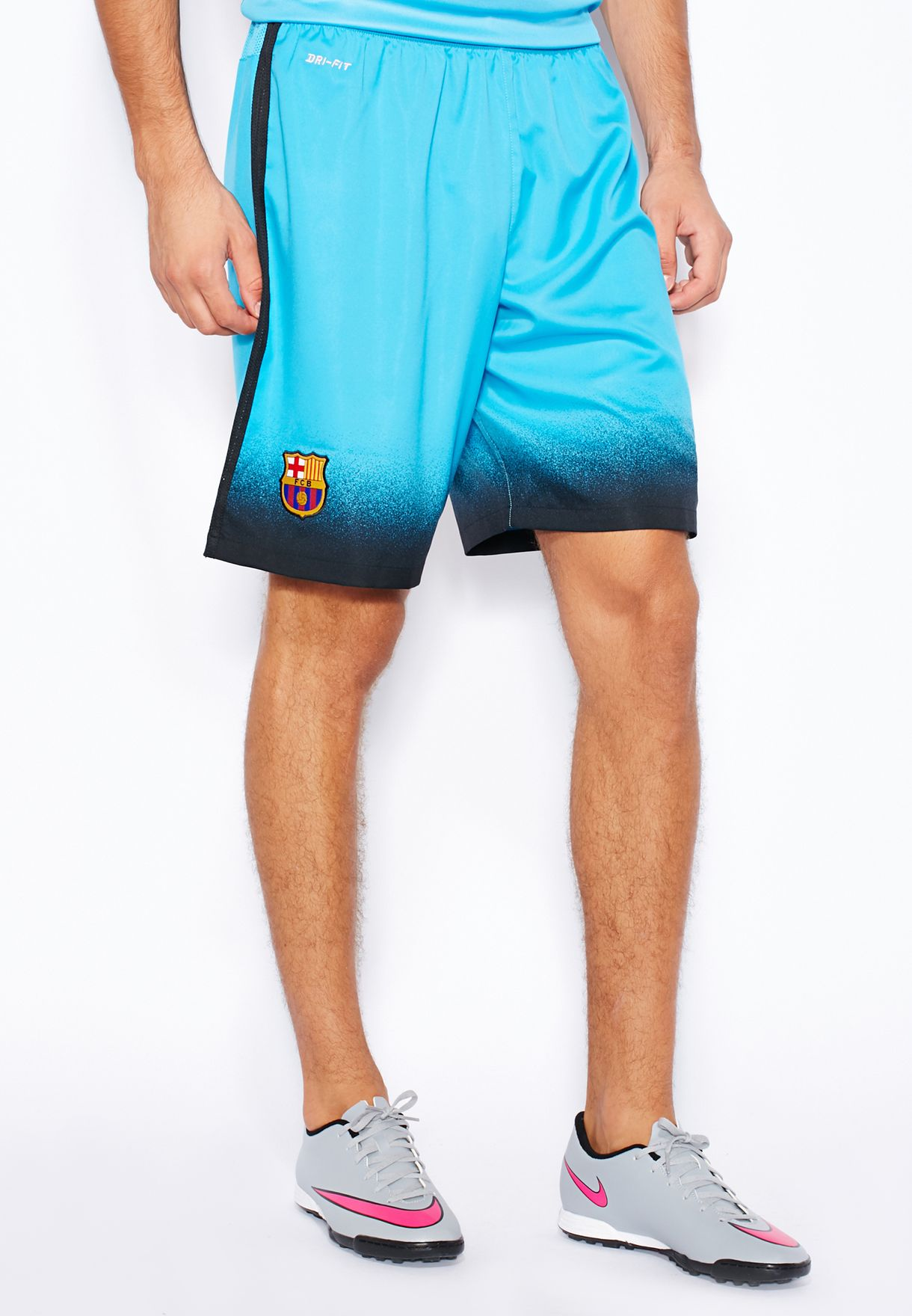 015c4f4a951e Shop Nike blue FCB Decept Stadium Shorts 658769-425 for Men in Oman ...