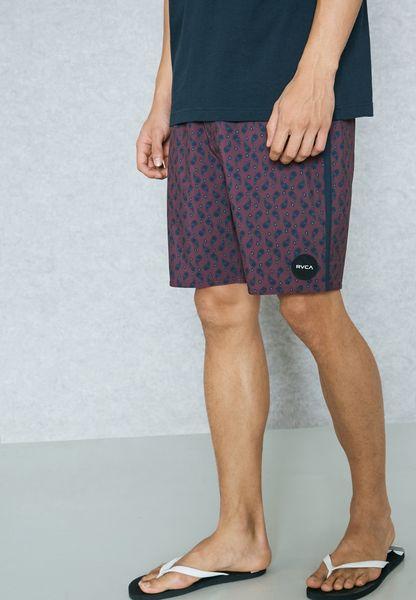 Grisa Vaisley Printed Shorts