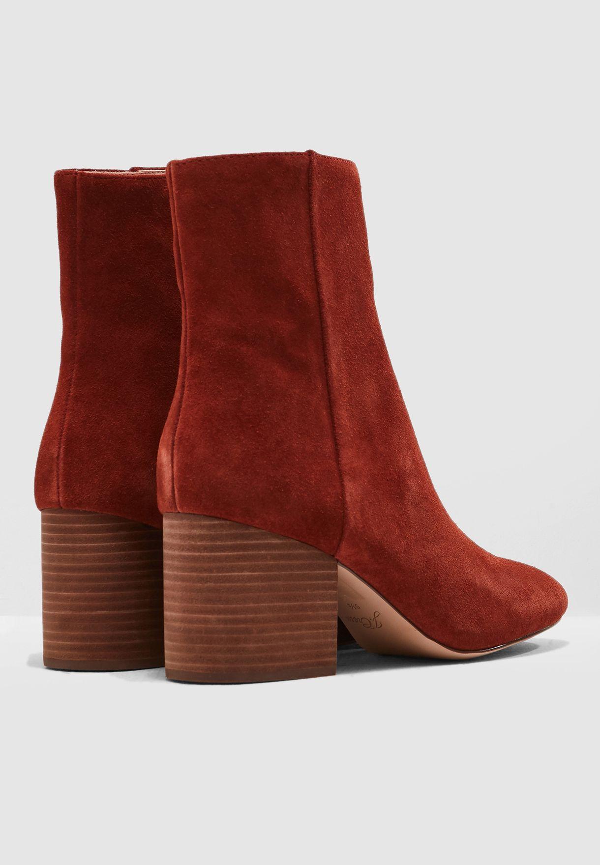 Chunky Heel Maya Boot