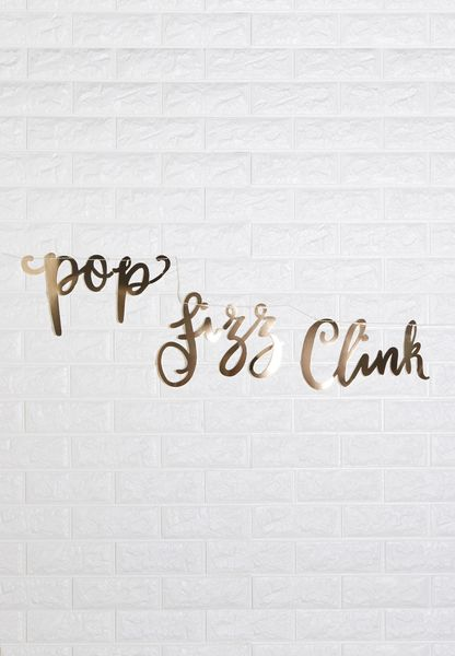 Pop, Fizz, Clink Bunting