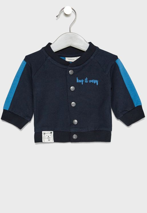 Infant Side Tape Cardigan