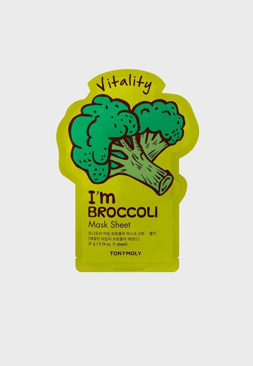 I Am Real Brokolli Mask Sheet