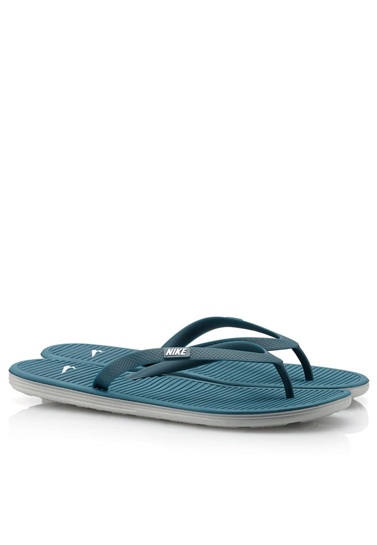 0124b11b4ea8 Shop Nike blue Solarsoft Thong ll 488160-305 for Men in Qatar - NI727SH09UFM