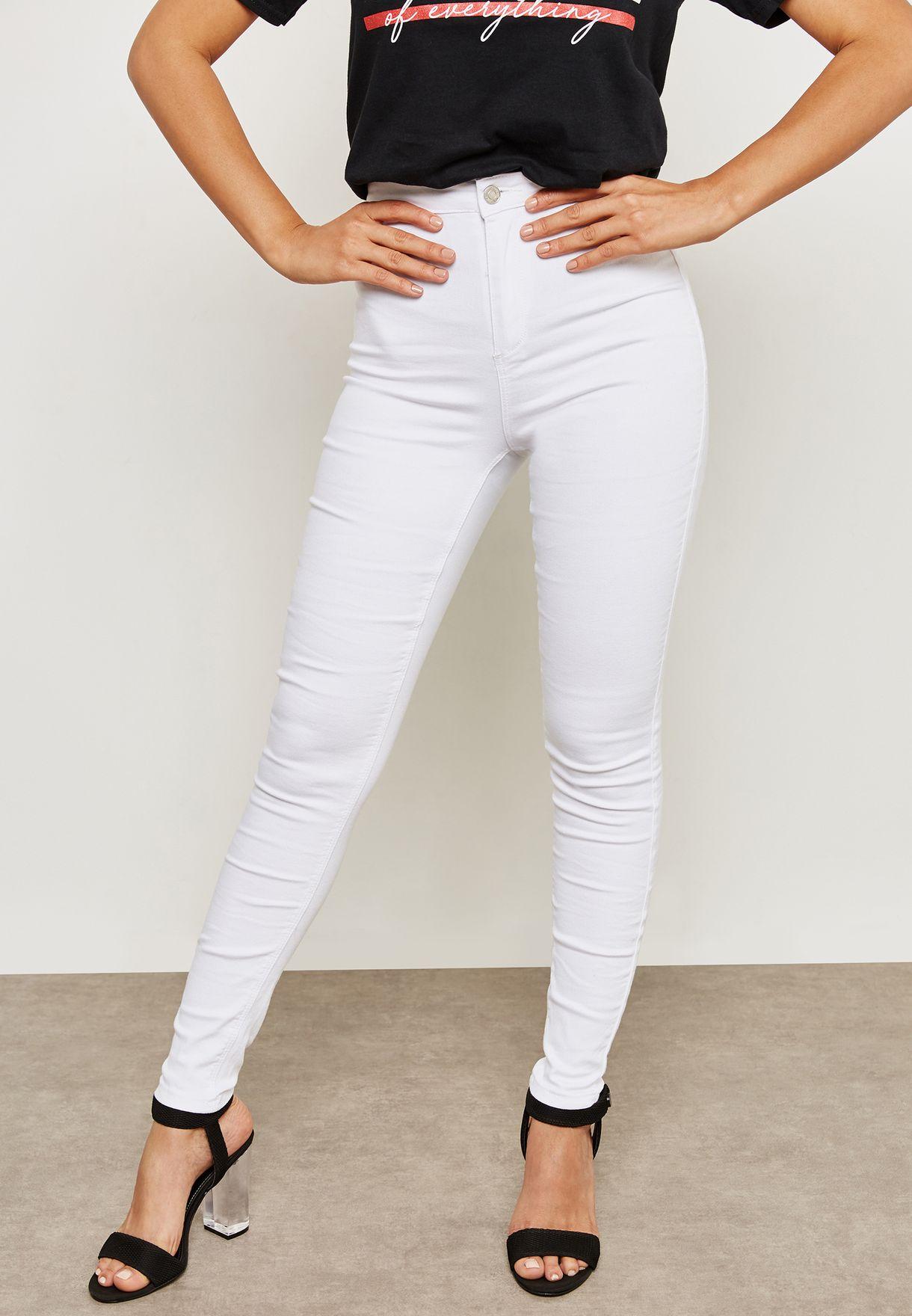 Vice High Waisted Skinny Jeans