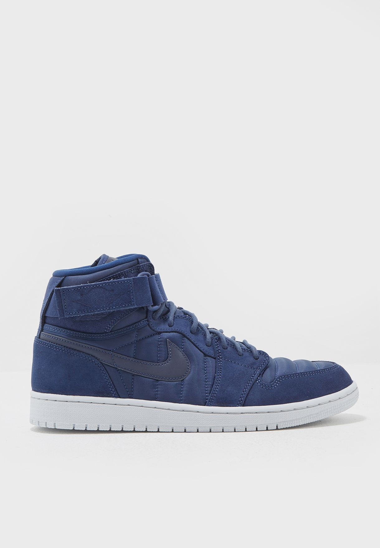 af9c7c239100fe Shop Nike navy Air Jordan 1 High Strap 342132-400 for Men in UAE ...