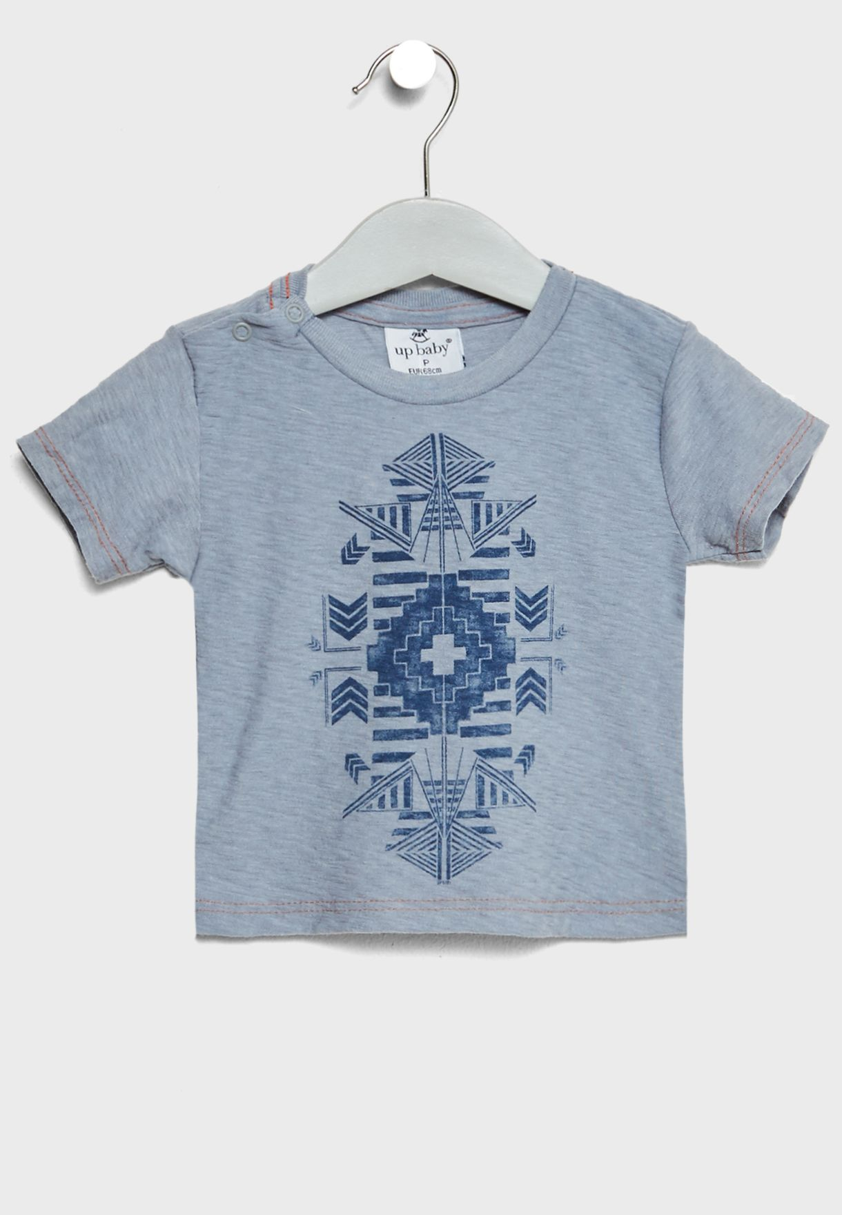 Infant Printed T-Shirt + Shorts Set
