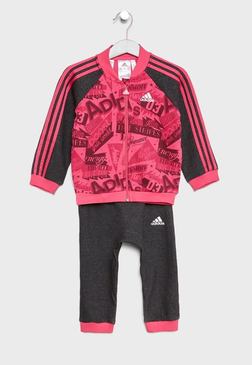 Infant 3 Stripe AOP Jogger Set