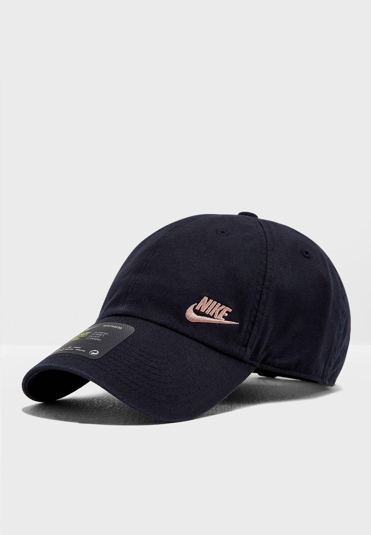 e9369e7ab6a Shop Nike black Futura H86 Classic Cap AO8662-014 for Women in Bahrain -  NI727AC09SXA