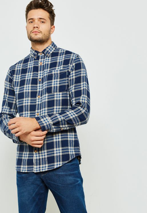 Columbo Check Shirt