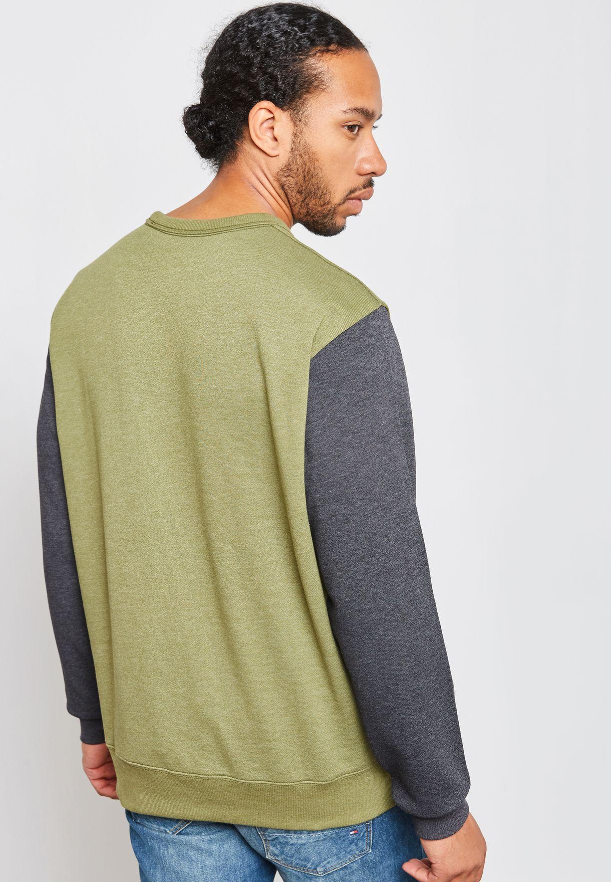 Halgen Logo Crew Neck Sweatshirt