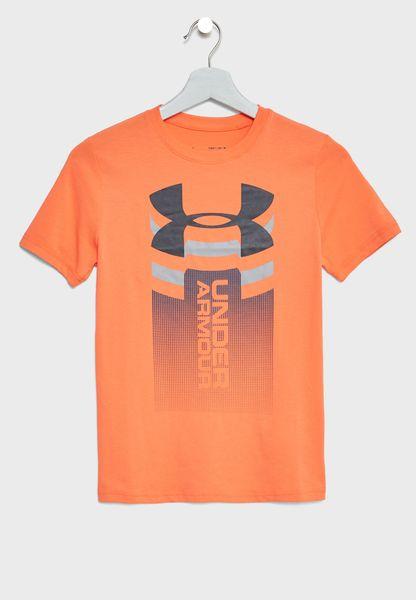 Youth Vertical Logo T-Shirt
