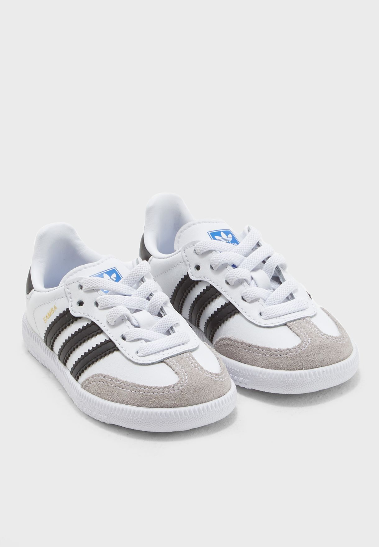 f9c6438989d Shop adidas Originals white Infant Samba OG EL BB6969 for Kids in ...