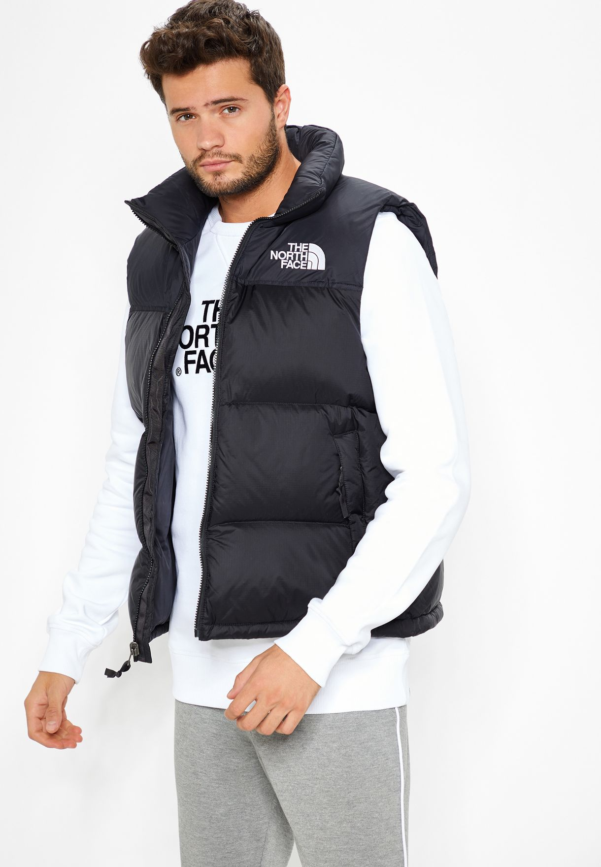 Shop The North Face black 1996 Retro Nuptse Gilet T93JQQ-JK3 for Men in  Saudi - NO683AT09DKC 957c761d5
