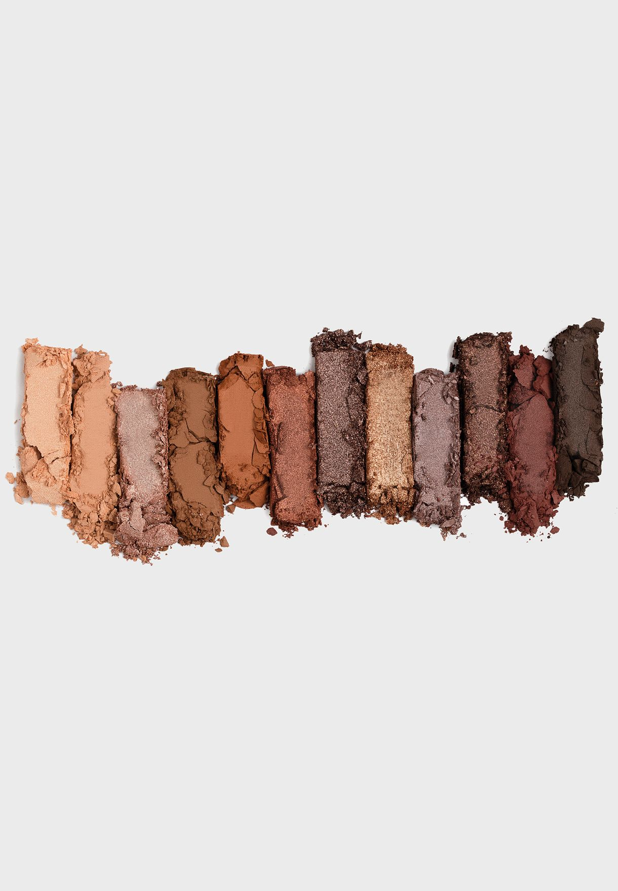 12 Pack Eyeshadow Palette - The Rusts