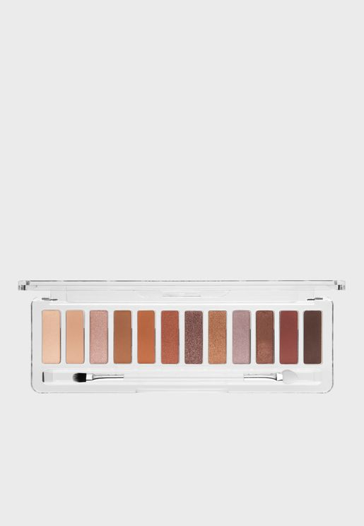12 Pack Eyeshadow Palette - The Rusts