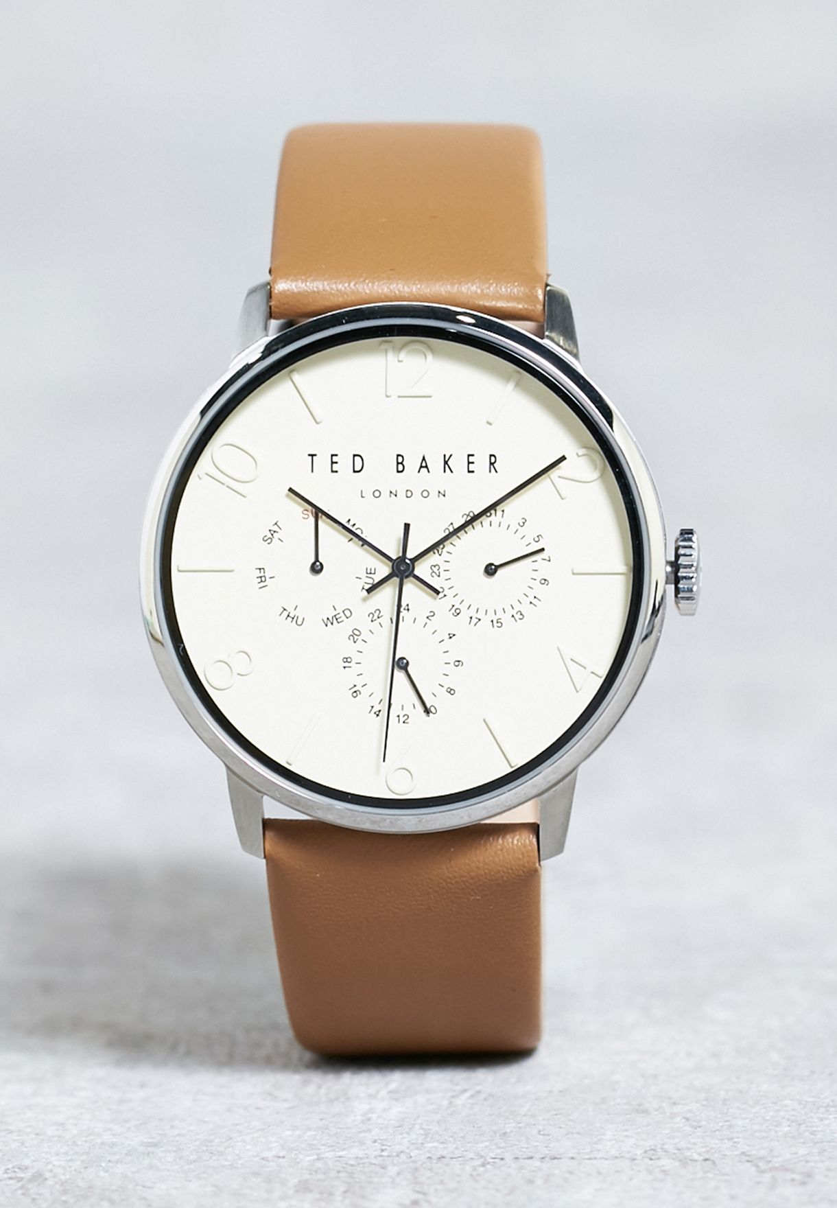 c880242a1e41 Shop Ted baker browns James Watch 10029569 for Men in Saudi ...
