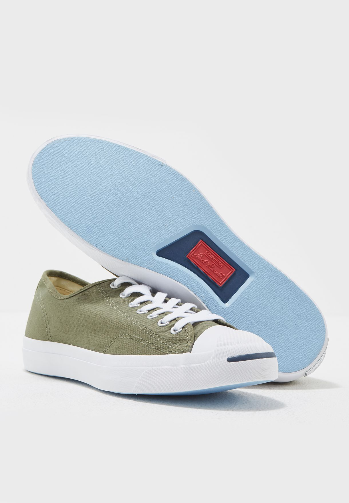 f8926cbe2e6b Shop Converse green Jack Purcell 157785C-348 for Men in UAE ...