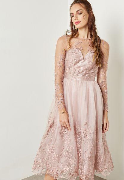 Womens Ella-Rose Party Dress Chi Chi London BK5sL8ql