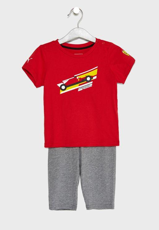 Infant Ferrari Casual Set