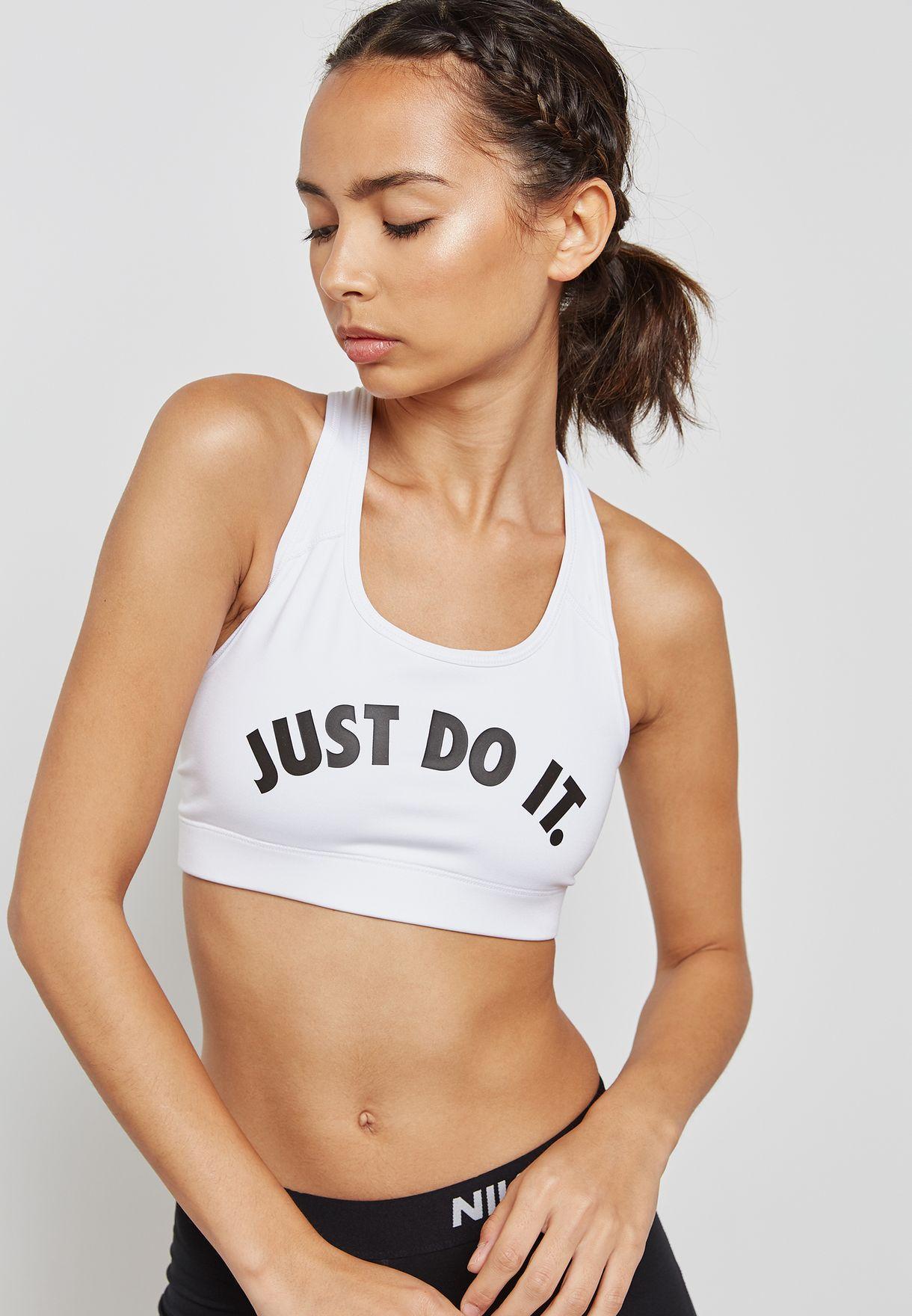 df18ccd9b4cd3 Shop Nike white Victory Compression Bra 924813-100 for Women in Bahrain -  NI727AT09KBI