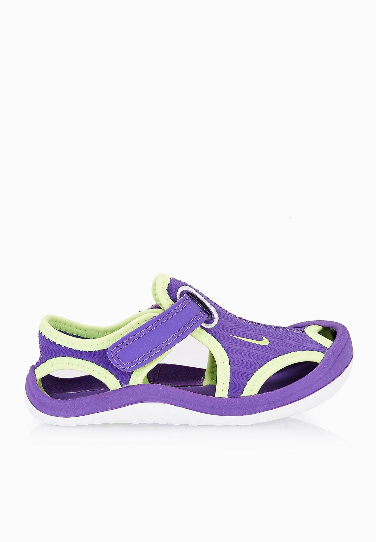 b95a5567f5bb Shop Nike purple Sunray Protect Kids 344993-513 for Kids in Qatar -  NI727SH09DDY