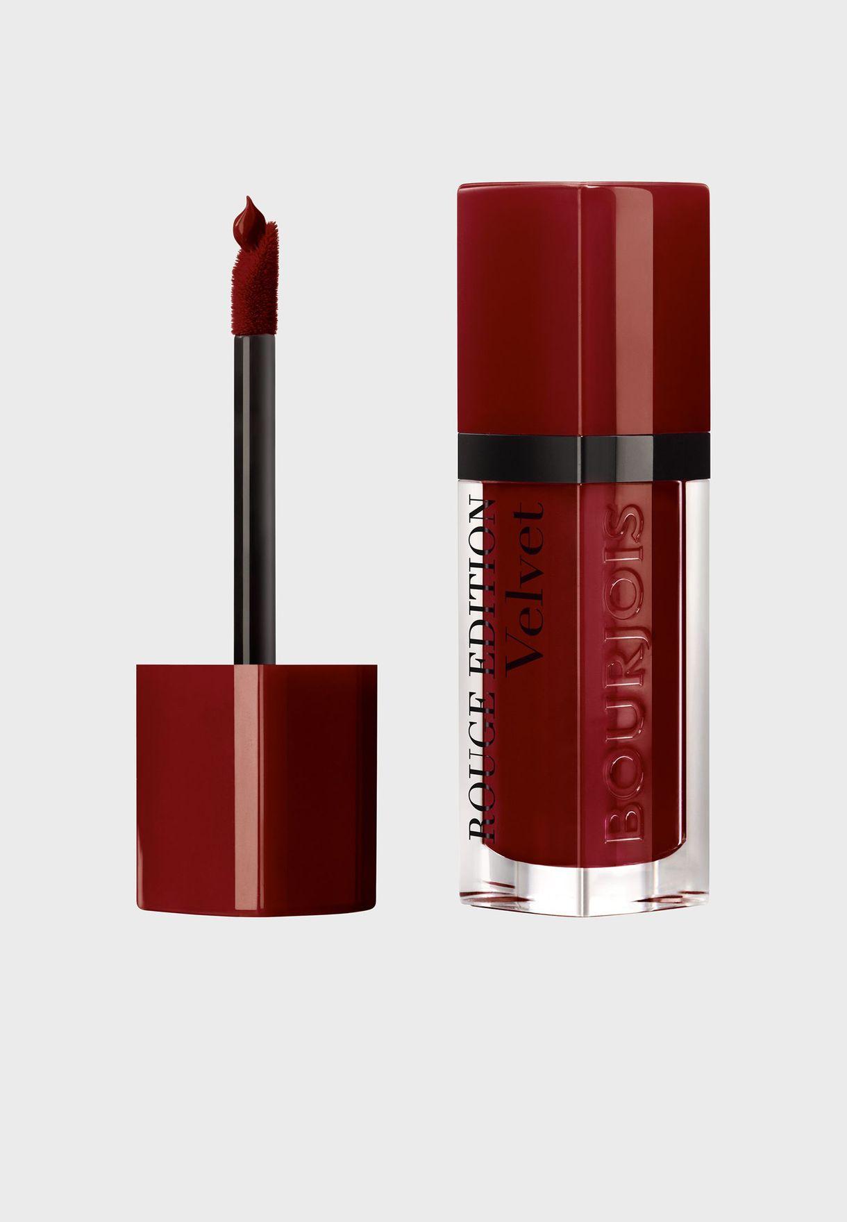 Rouge Edition Velvet Liquid lipstick 19 Jolie-De-Vin