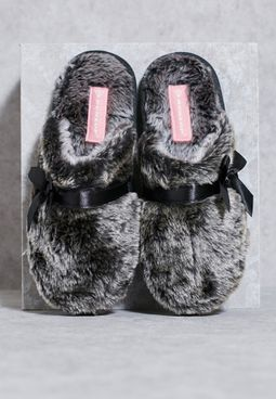 Bow Bedroom Slippers