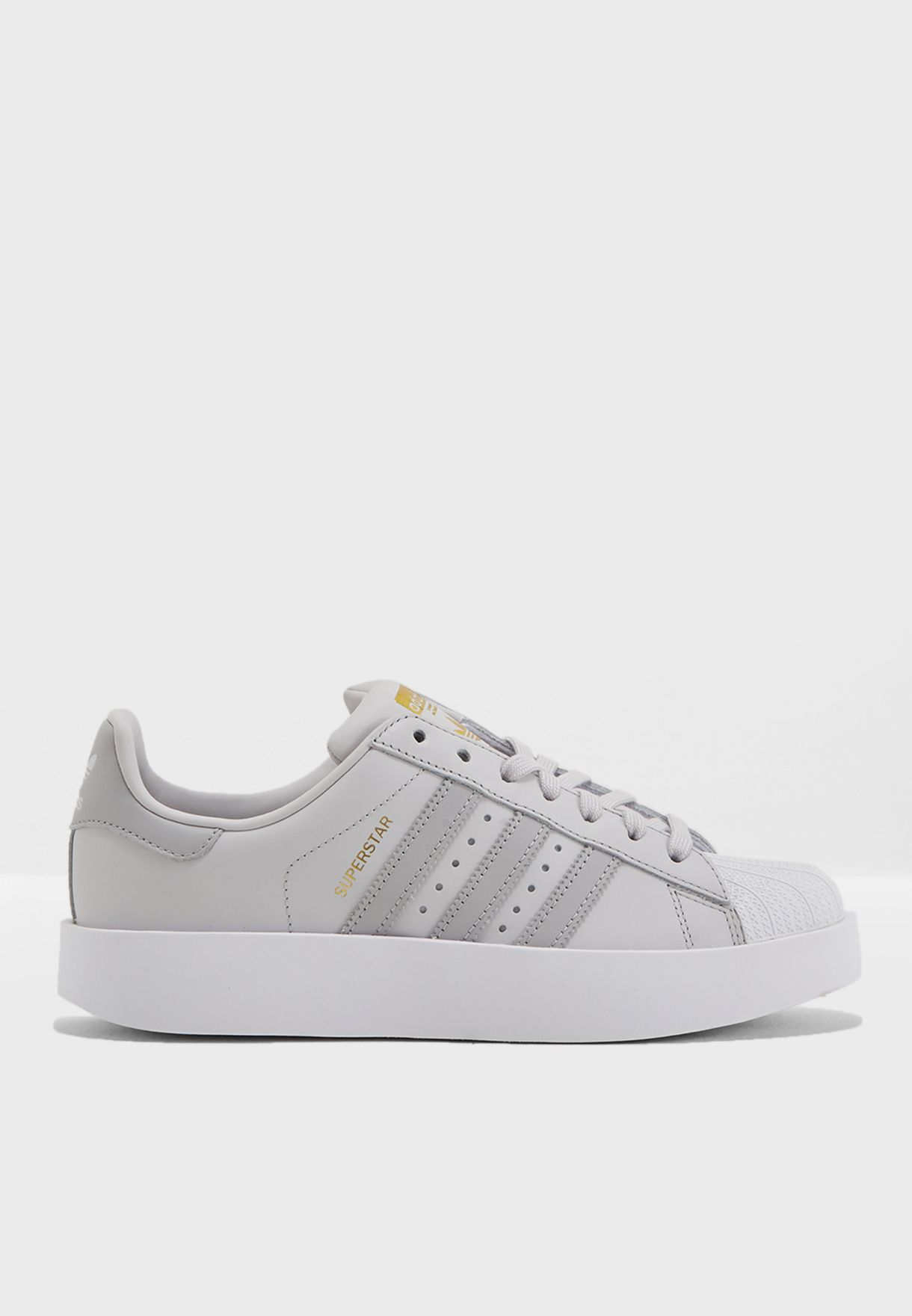 ca9e1f044a27 Shop adidas Originals grey Superstar Bold CQ2824 for Women in UAE ...