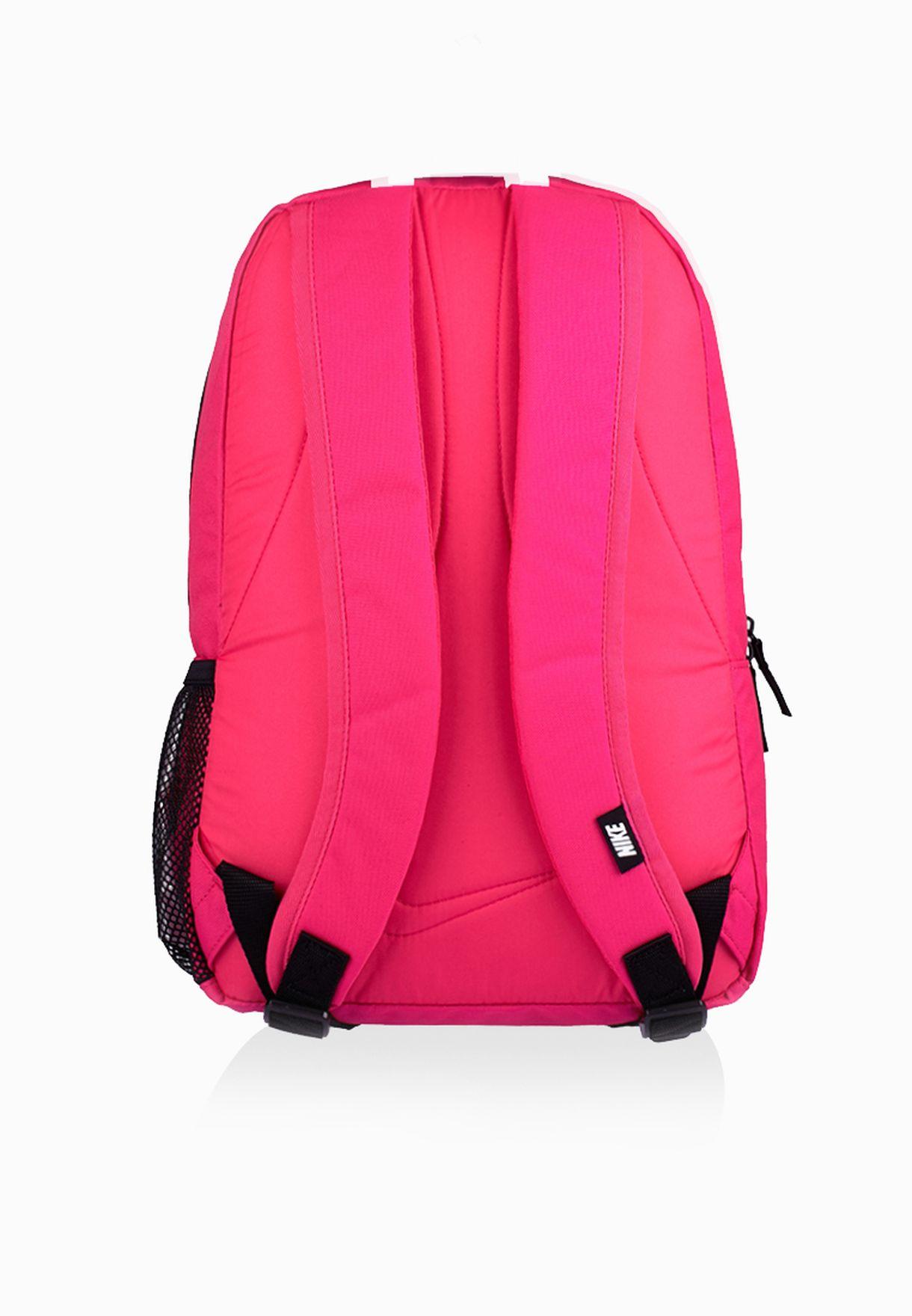 bada884b3c05 Shop Nike pink Classic Turf Backpack BA4865-616 for Women in ...