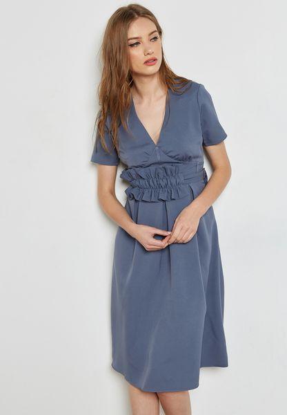 Frill Waist Dress