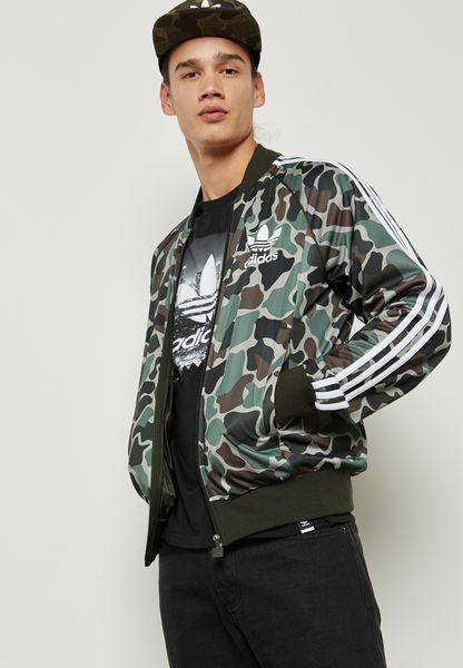 Superstar Camo Track Jacket