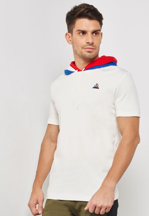 Tricolore Hooded T-Shirt
