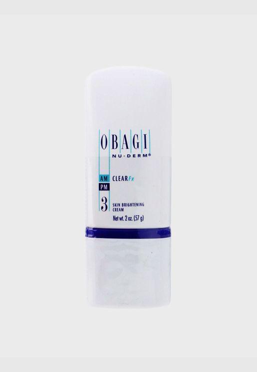 Nu Derm Clear Fx Skin Brightening Cream