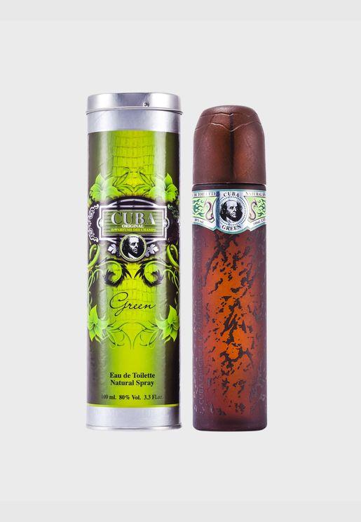 Cuba Green Eau De Toilette Spray