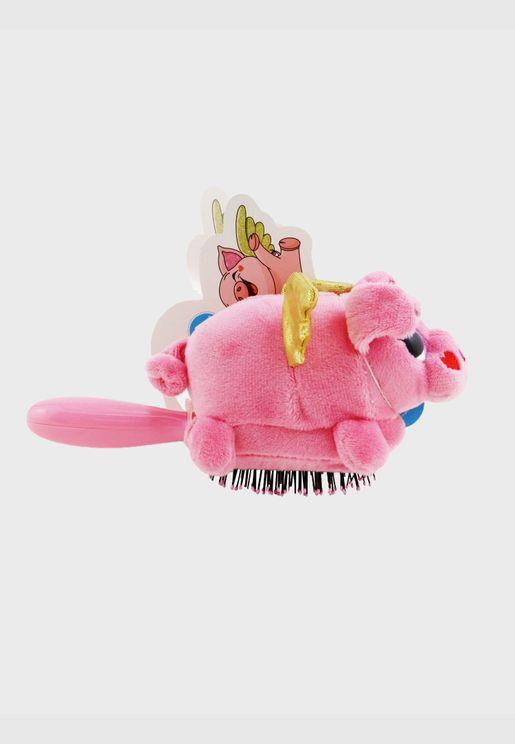 Plush Brush - # Flying Pig