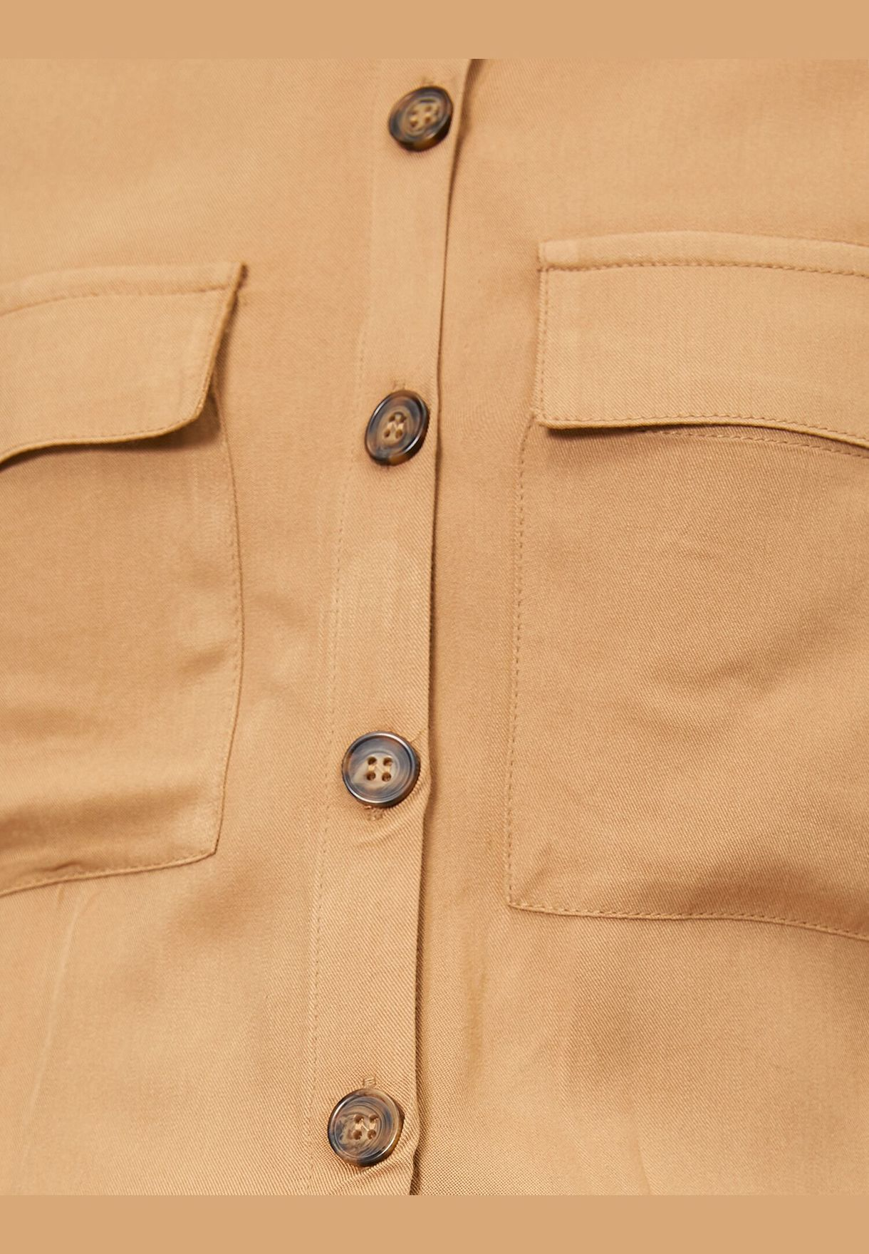 Button Detailed Blouse