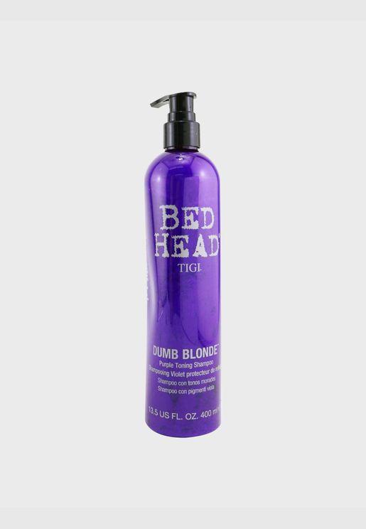 Bed Head Dumb Blonde Purple شامبو قابض